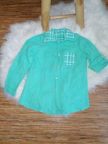 Ostala dečija odeća | Vrsac: Tanka letnja kosulja, 6-7god