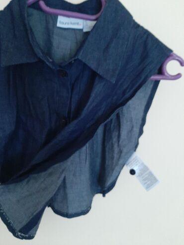 Laura Kent teksas kratki ponco Vel XS  Prelepo na topic ili majicu