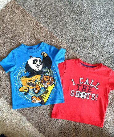 Majice za dečake vel 3. Pamuk bez ikakvih oštećenja i fleka što se