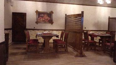 Bakı şəhərində Her nov pub ve restoranlarin stol stul bar besetka qapi pencere listur