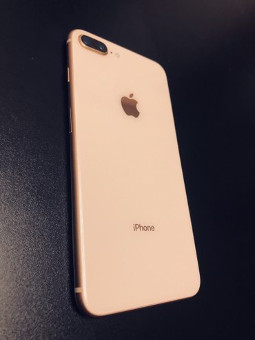 Bakı şəhərində Iphone 8 PLUS GOLD 64gb , With 10 months of use, with a further 2