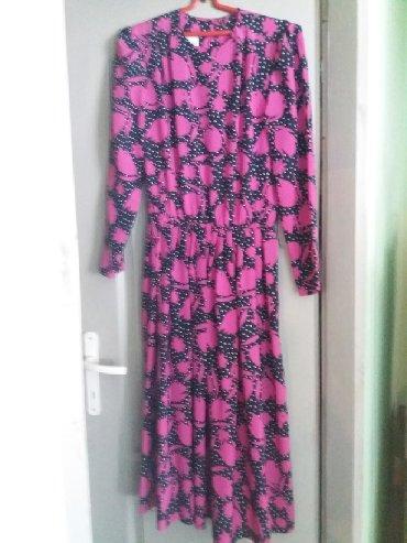 Haljina bolje stoji punijim osobama duzina materijal pa - Srbija: Lepa haljina  (iz inostranstva) lagani tanki materijal