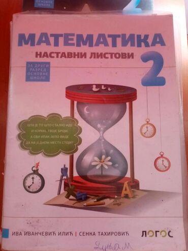 Knjige, časopisi, CD i DVD   Srbobran: Na prodaju polovne knjige za 2 razred osnovne škole. Logos izdavac