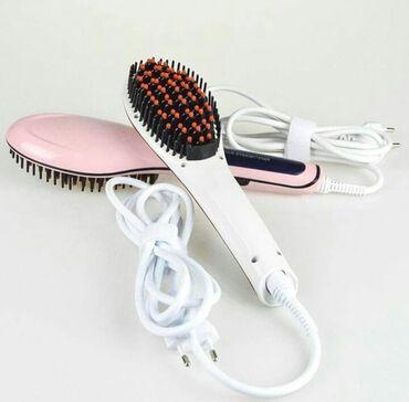 professional mikrofon в Кыргызстан: Продаю расчёску-выпрямитель Professional Hair Straightener. Состояние