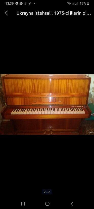 Mebelni pianina. Hec bir problemi yoxdur.Teze kimidi. Model