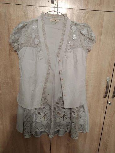 с-юбкой в Кыргызстан: Двойка.Юбка и блузка.Размер 46