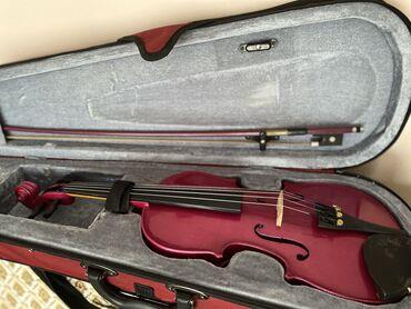 Aro 24 2 5 mt - Srbija: Violina 1/2 Cremona ( kao nova ) boja -roze  Violin je svirana godinu