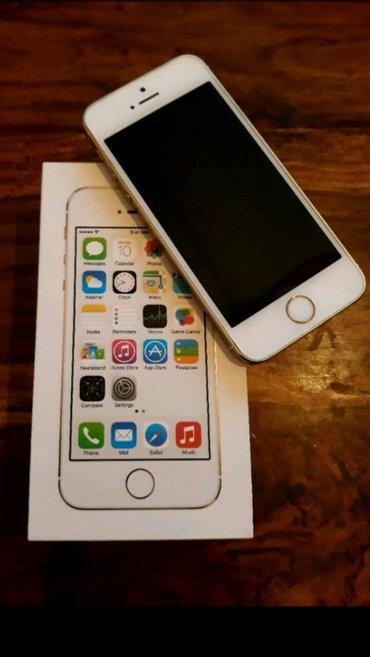 iphone 5s 32gb telefon u odlično stanje star 5 meseci Kao nov - Paracin