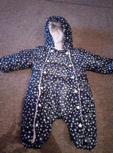 Верхняя одежда в Сокулук: Продаю демисезонный комбинезон, подойдёт как для мальчика, так и для д