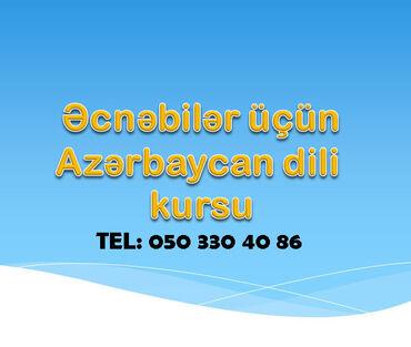 Əcnəbilər üçün Azərbaycan dili kursları Azərbaycana səfər etmiş hər bi