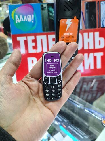 oppo телефон в Кыргызстан: Телефон кнопочный INOI 102 Спешите приобрести мини телефон! Количество