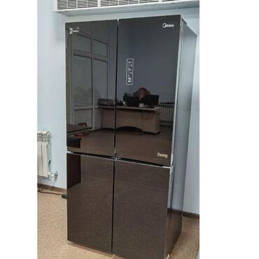 сахарная эпиляция зон в Кыргызстан: Новый Side-By-Side (двухдверный) Серебристый холодильник Midea