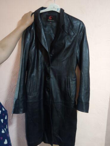 Личные вещи - Ала-Тоо: Женское кожаная куртка 2XL 300 сом