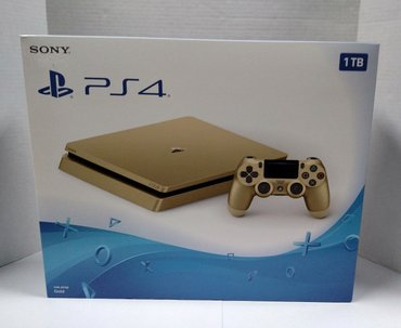 Подлинная PS4 Slim Gold 1TB Sony PlayStation 4 System Console в Ёри