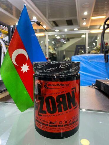 Спортивное питание - Азербайджан: Zorn #energetik #ironmaxx #zorn