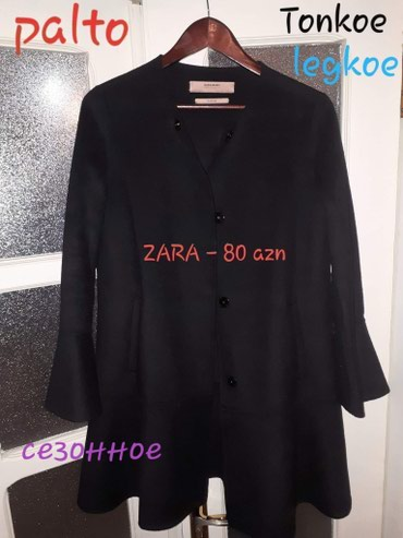 Bakı şəhərində Zara demisezonniy palto