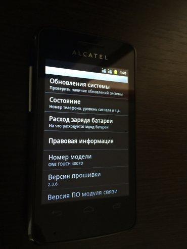 алкател®  2сим состояние отличное андроид в Бишкек