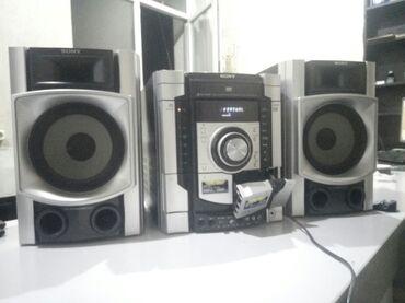 наушники 7 1 в Кыргызстан: Продаю мощный музыкальный центр SONY