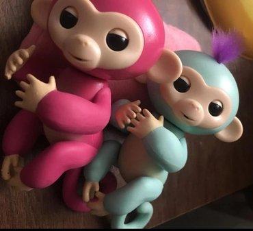 Funny monkey отличная копия wowwee fingerlings monkey, в Бишкек