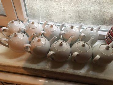 Чайники - Кыргызстан: Фарфоровые чайники 10 шт в хорошем состоянии