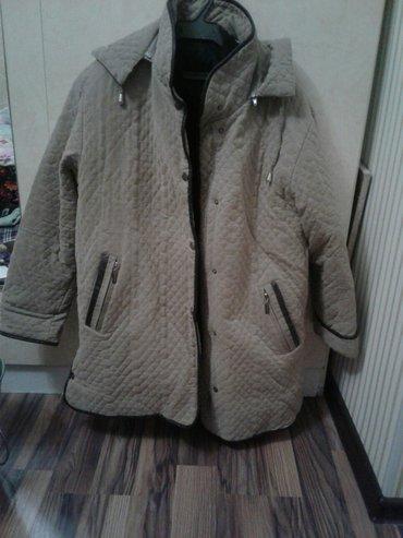 Куртка женская почти новая размер 54. 56 в Бишкек