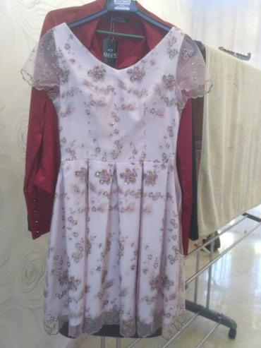 шью на заказ платье в Кыргызстан: Платье. шили на заказ. обошлось 8000. не одевали