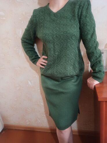 www megatao kg в Кыргызстан: Доброго времени суток! Продаю трикотажный шерстяной костюм. Размер 46