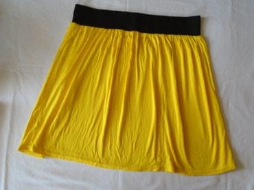 Pamučna, intenzivno žute boje, suknjica Orsay, lagana i prijana za - Belgrade