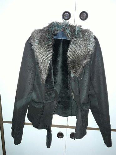 Zimska jakna-bundica,kraća,odgovara veličini m(38-40),očuvana - Zajecar