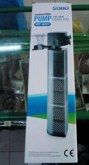 Akvariumlar Azərbaycanda: ︽ SOBO WP - 6001 3 qubkalı︽ 40 watt Gücündə 2800 L/H su dövriyyəsi