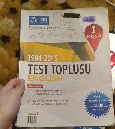 Спорт и хобби - Евлах: İngilis dili test toplusu 1. Hisse