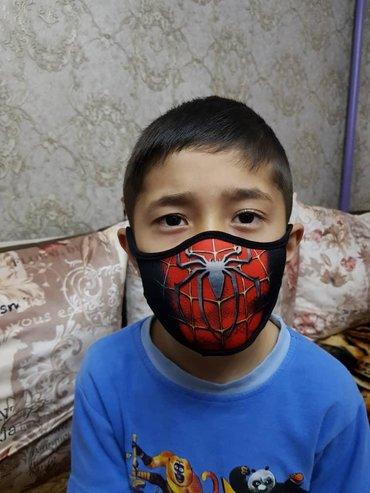 Детские маски любой рисунок оптом