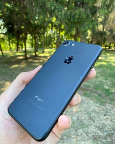 Мобильные телефоны - Базар-Коргон: IPhone 7 32Gb 89% В отличном состоянии  Привозные с США  Доставка по К