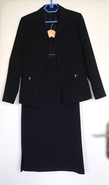 Sako-suknja - Srbija: Ženski komplet (sako i suknja), veličina 42/LPosebno:sako 600 din