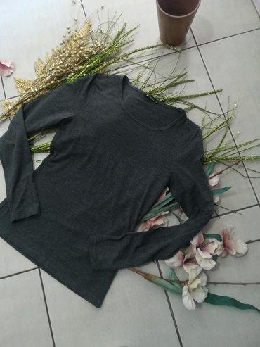 Majica tamno siva boja super kvalitet Povoljno Vel S M