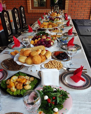 Услуги опытного повара! Стаж 10 лет. От в Бишкек
