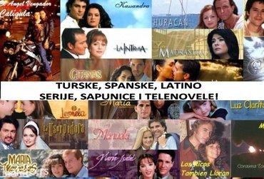 Telenovele, Spanske i Turske serije, Meksicke, Latinoamericke i - Boljevac