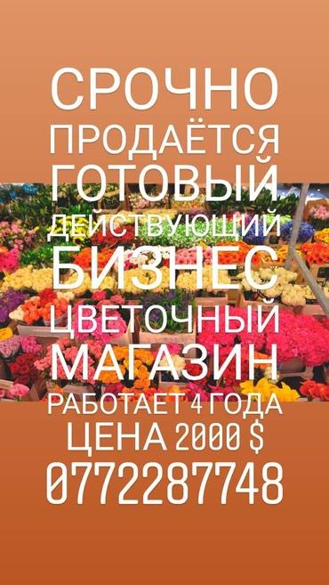 Срочно продаётся готовый действующий в Бишкек