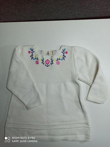 трикотажная кофта в Кыргызстан: Кофта на девочку новая Zara Kids. Х/Б. На возраст 1-2 года
