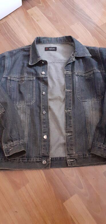 Мужская джинсовая куртка на осень или весну все целое. Состояние хоро