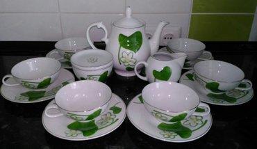 Новый чайный сервиз Белый Лотос, в Бишкек