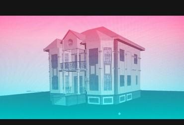 Студен архитектор принимает заказы индивидуальный коттеджы .....  в Бишкек