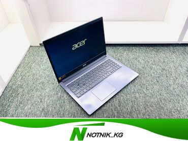 клексан 0 4 бишкек цена в Кыргызстан: Ноутбук-Ноутбук для универсальных задач  -Acer  -модель-Aspire 3  -про