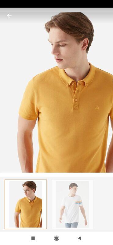 ПРОДАМ!! 2 мужские футболки, бренд MAVI Турция, качество заказали