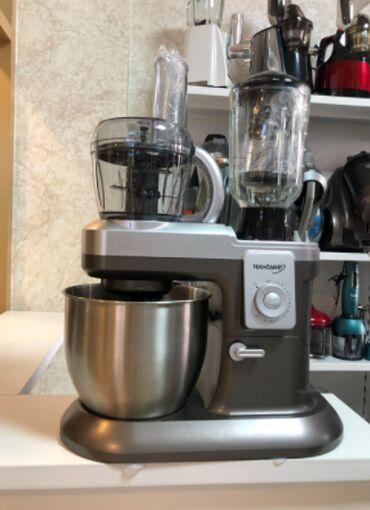 Профессиональная кухонная машина Техномир 10 в 1 10-скростей Чаша из н