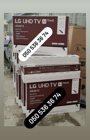 bluetooth наушники lg в Азербайджан: Televizor LG 49UN73506LB 4k SmartKredit yoxdurWhatsApp