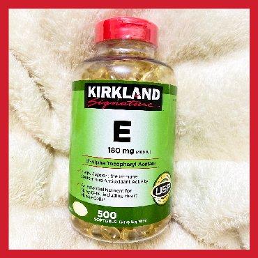 витамины весной в Кыргызстан: Витамин Е в капсулах от Kirkland Signature: Секрет косметологов раскры