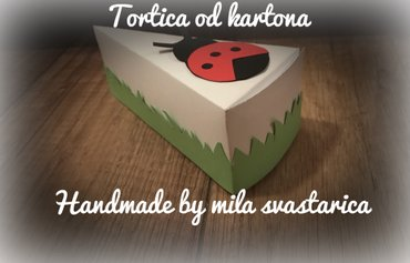 Torte od kartona - torta od kartonastize nam prolece pa u tom