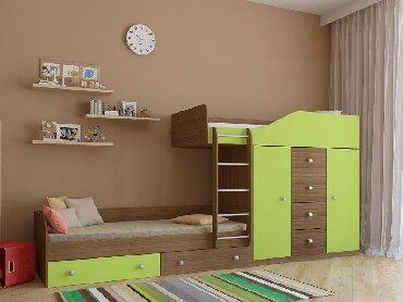 Двухъярусная кровать   Из лучших материалов индивидуально под заказ!