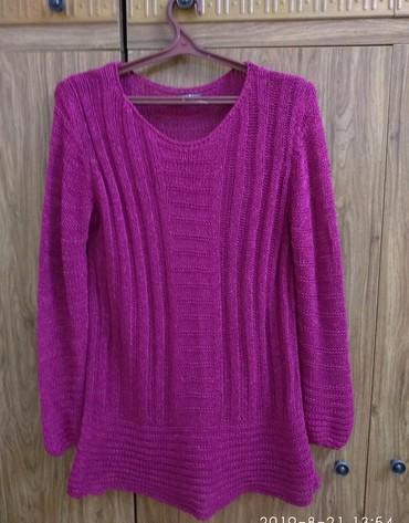 розовый свитерок в Кыргызстан: Очень красивый лёгкий свитерок (просвечивает) произ-во Турция. размер
